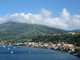 Saint-Pierre, Martinique Subprefecture and commune in Martinique, France