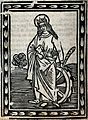 Saint Catherine. Woodcut. Wellcome V0031800.jpg