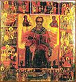Saint Nicholas and Saint Charalambos Church, Kastoria, Saint Nicholas Icon with Scenes from his Life.jpg