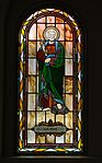 Saint Paul Catholic Church (Westerville, Ohio) - stained glass, arcade, Saint Peter.jpg