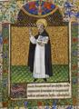 Saint Vincent Ferrier - Livre d'heures de Pierre II de Bretagne.png