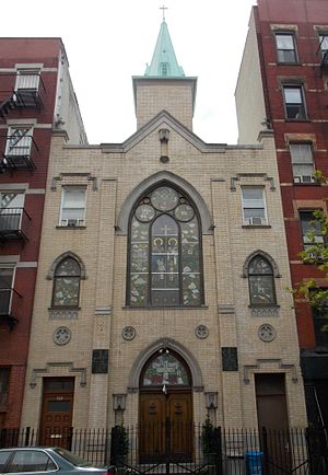 Church of Sts. Cyril & Methodius and St. Raphael (New York City) - Image: Saints Kyril & Metodi Bulgarian Eastern Orthodox Cathedral 02