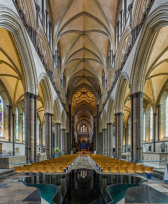 Salisbury Cathedral - The nave