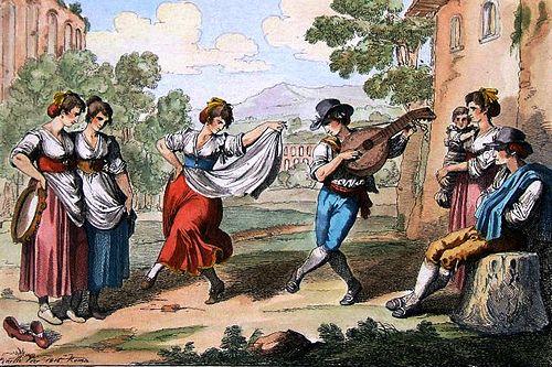 бранль прачек веселый музыка