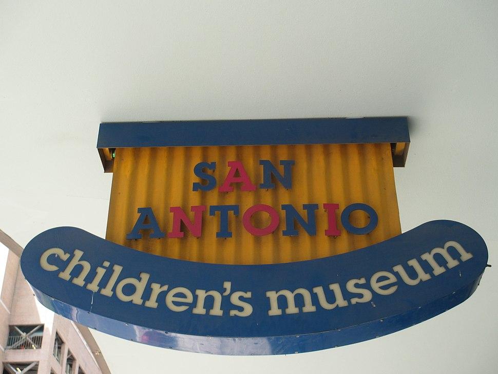 San Antonio Children%27s Museum sign IMG 5337