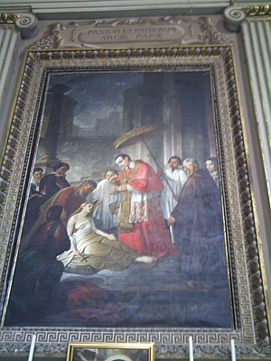 Domenico Tojetti - San Carlo Borromeo, Rocca di Papa