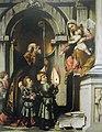 San Nicola di Bari presenta gli allievi di Galeazzo Rovelli alla Madonna in trono col Bambino.jpg