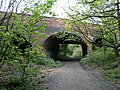 Sanders Lane bridge over footpath - geograph.org.uk - 18896.jpg