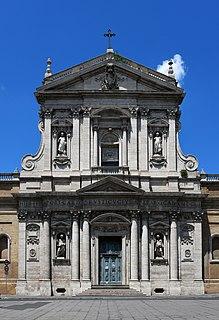 Santa Susanna building in municipio I, Italy