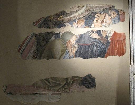 Santa maria della scala, sagrestia vecchia, madonna del manto di domenico di bartolo 00
