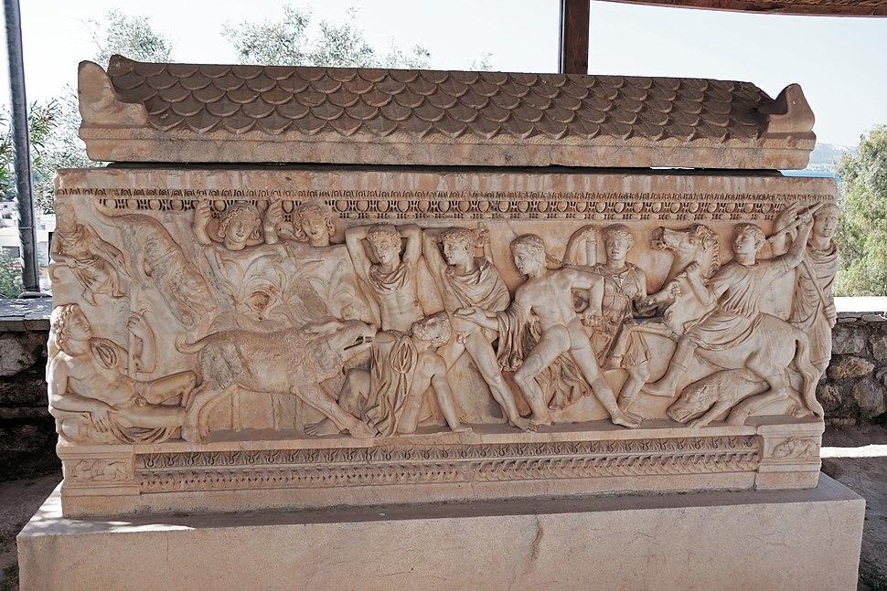 Sarcofago romano, Eleusi
