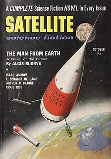 <i>Satellite Science Fiction</i> American science fiction magazine, published from 1956 to 1959