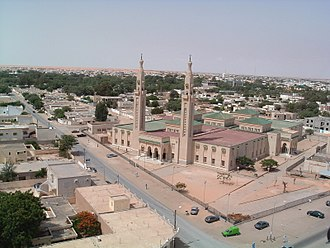 Nouakchott - The Grand Mosque in Nouakchott
