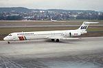 "Scandinavian Airlines - SAS McDonnell Douglas MD-81 (DC-9-81) SE-RMB ""Bjarne Viking"" (26326842744).jpg"