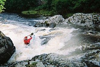 Scaur Water - Water sports on Scaur Water.