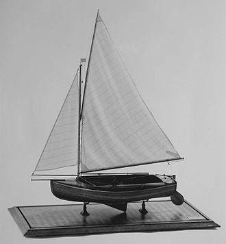 French National Monotype 1924 - Model of the Scheldejol: Collection Nederlands Scheepvaartmuseum Amsterdam