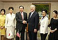 Schieffer and members of the New Komeito.jpg