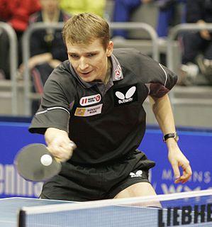 Werner Schlager Austrian table tennis player