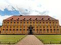 Schloss Osnabrück Frontalansicht Schlossinnenhof. Schlosspark. Universität Osnabrück. UOS. Foto Clemens Ratte-Polle. 2015.07.26.DSC07045.JPG