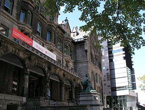 Schulich School of Music - Image: Schulich Mc Gill Music Buildings