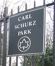 Carl Schurz Park, Upper East Side Manhattan, New York City