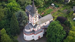 Doppelkirche Schwarzrheindorf - Image: Schwarzrheindorf St Maria und Clemens