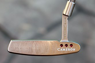 Titleist - Image: Scotty Cameron putter 2015