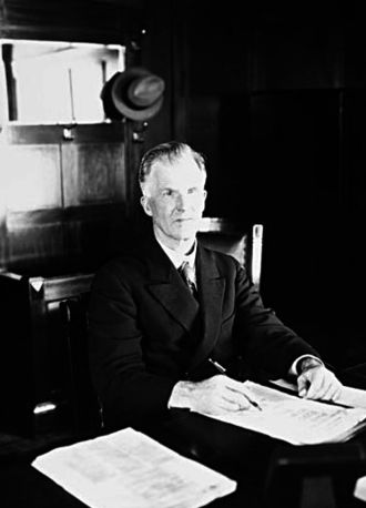 James Scullin - Prime Minister Scullin in 1930