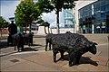 Sculpture, Laganside, Belfast - geograph.org.uk - 524192.jpg
