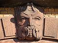 Sculpture de maison, rue du cimetière, L'Hôpital (Moselle).jpg
