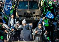 Seahawks wide receivers, Super Bowl parade.jpg