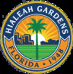 Hialeah Gardens, Florida - Image: Seal of Hialeah Gardens, Florida