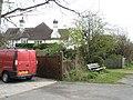 Seat near St Catherine's Road - geograph.org.uk - 742740.jpg