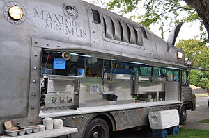 """Maximus Minimus"", kitchen truck wit..."
