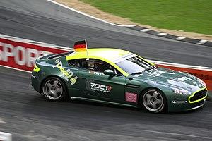 Aston Martin Vantage N24 - Sebastian Vettel racing an Aston Martin Vantage N24