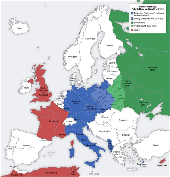 File:Second world war europe 1939 map de.png - Wikipedia
