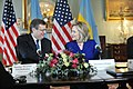 Secretary Clinton and Ukrainian Foreign Minister Gryshchenko Sign a Memorandum of Understanding on Trafficking in Persons (5449308962).jpg