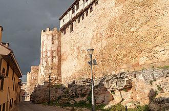 Walls of Segovia - View of the city walls