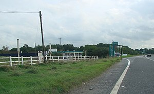 A63 road - Image: Selby Fork Motel, on the old A1, now re designated as the A63. geograph.org.uk 252118