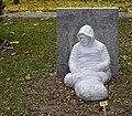 Self-portrait by Fabrice Gygi. Kings Cemetery, Geneva.jpg
