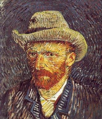 Divisionism - Image: Self portrait with Felt Hat