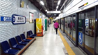 Jongno 5-ga station