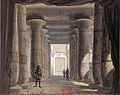 Set design by Philippe Chaperon for Act1 sc2 of Aida by Verdi 1871 Cairo - Gallica (adjusted).jpg