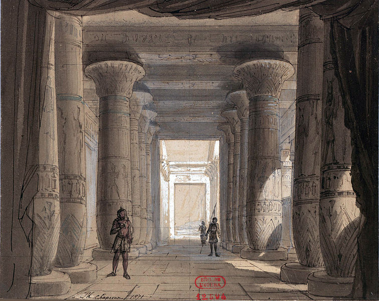 File:Set design by Philippe Chaperon for Act1 sc2 of Aida by Verdi 1871 Cairo - Gallica (adjusted).jpg