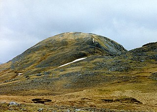 Sgùrr Thuilm mountain in the United Kingdom