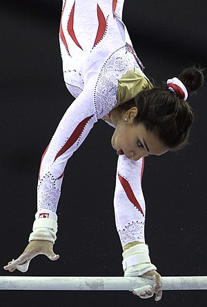Uneven bars - Shaden Wohdan, Qatar