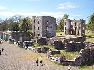 Shane's Castle - Photograph from 1 May 2002