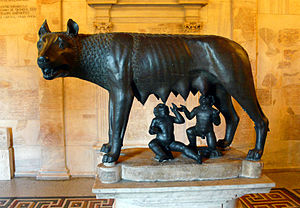 Capitoline Wolf - The sculpture in Musei Capitolini
