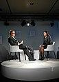Sheena Iyengar and Eric Hellweg World Economic Forum 2013.jpg