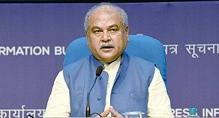 Narendra Singh Tomar Indian politician